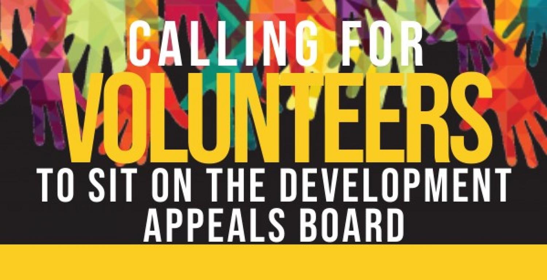 Development Appeals Board Members Needed