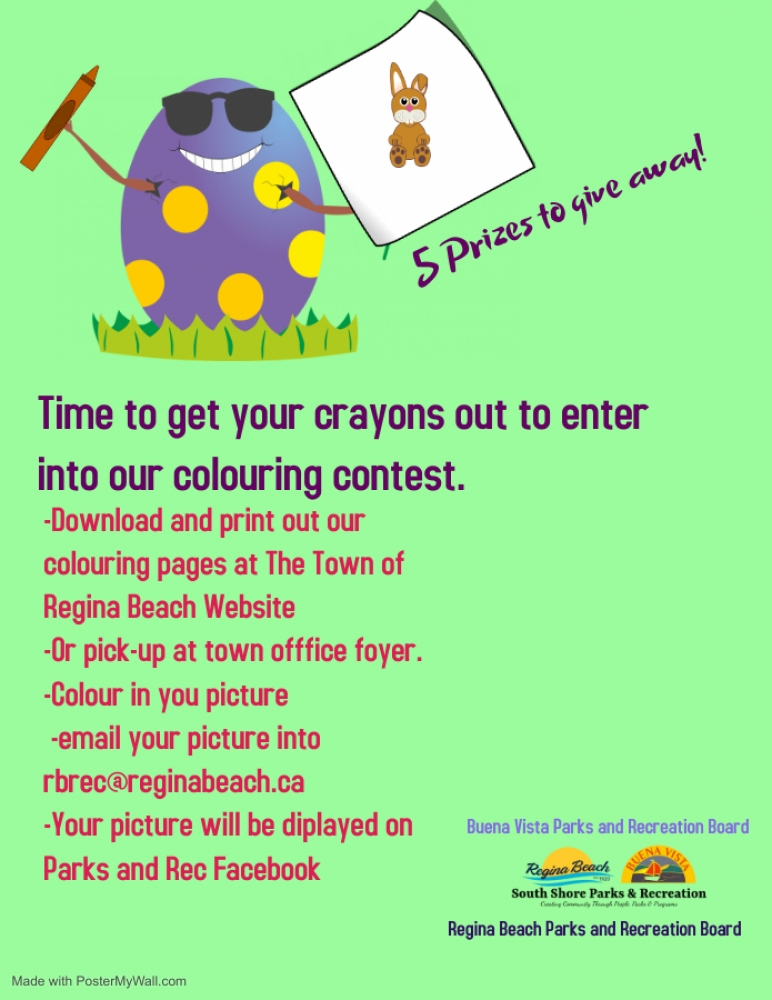 Easter Colouring Contest!