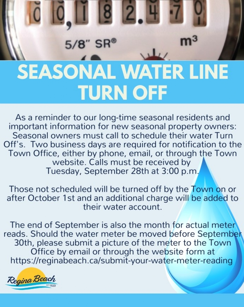 Important Information for Seasonal Residents