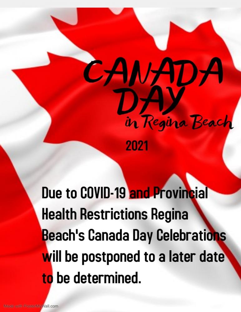 July 1st Celebrations Postponed
