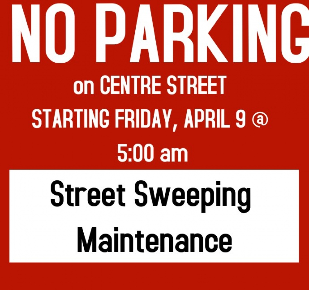 No Parking Centre St starting 5am Friday