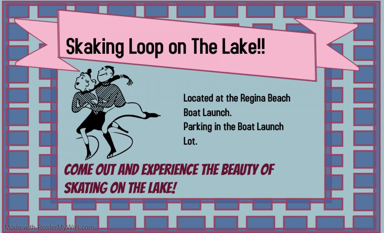Skating Loop on the Lake