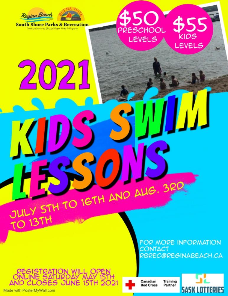 Swim Lesson Registration Now Open!