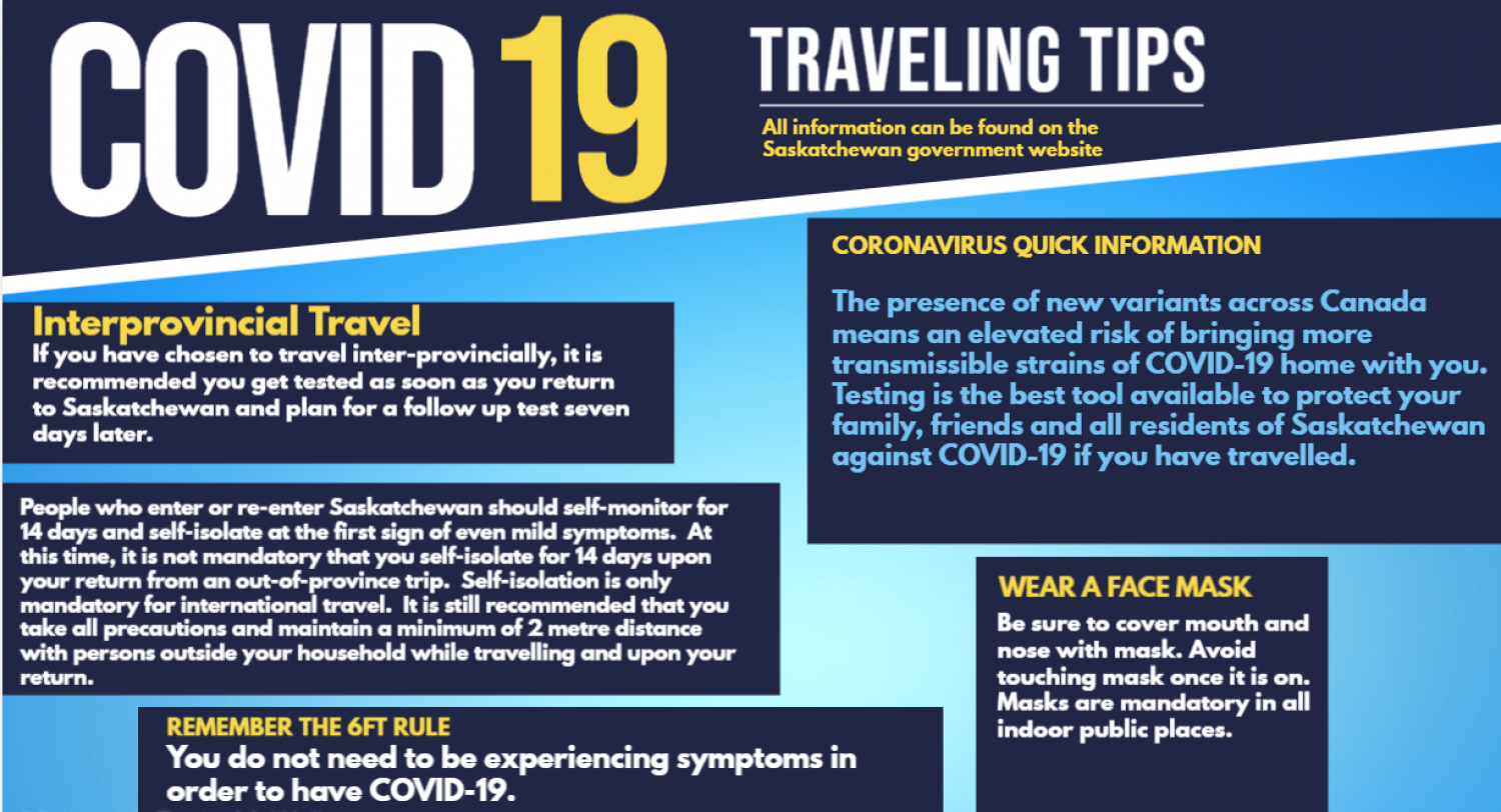 Travel & COVID-19 Reminders