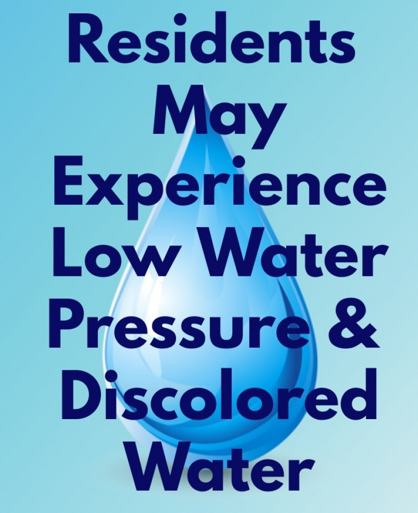 Water Discoloration/Low Pressure