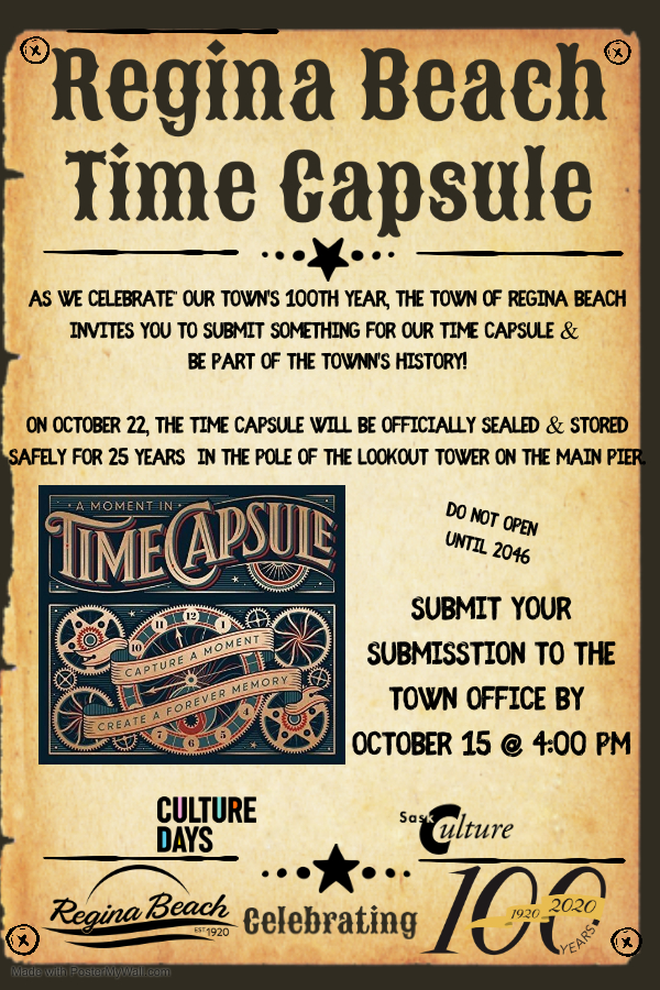 Time Capsule Submissions Due