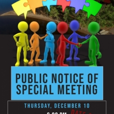 Notice of Special Meeting - Date Change