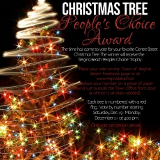 "Centre Street Christmas Trees -  ""People's Choice Award"""
