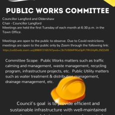 Public Works Committee Meeting - Tonight