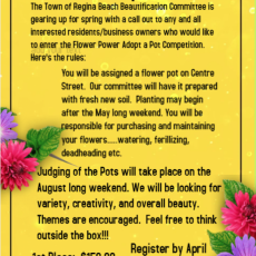 Flower Power Adopt a Pot Competition