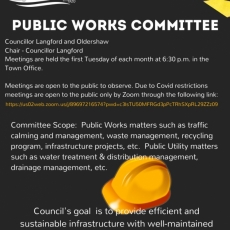 Public Works Committee Meeting Tonight