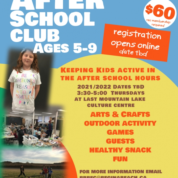After School Club – ages 5-9