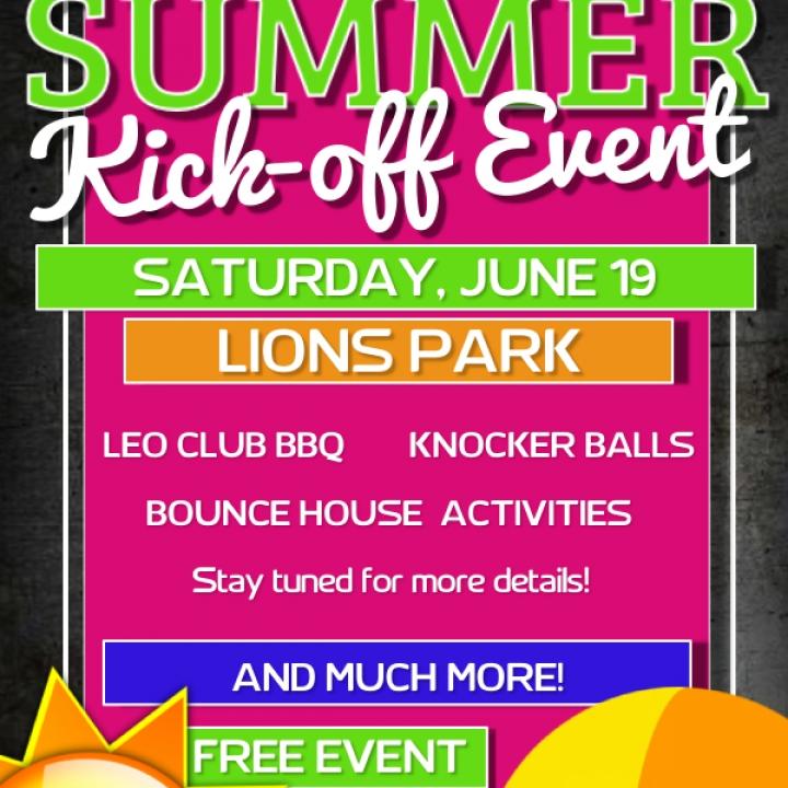 Summer Kick-Off Event