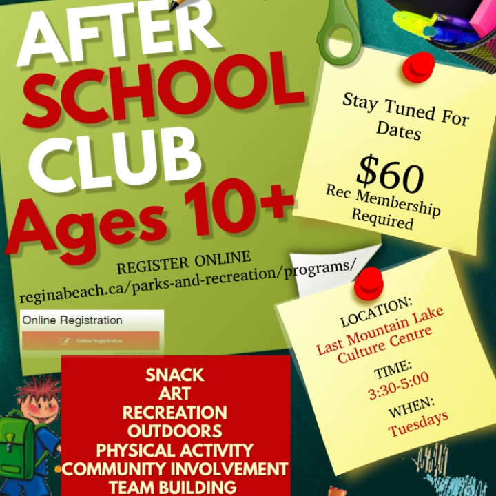 After School Club ages 10+